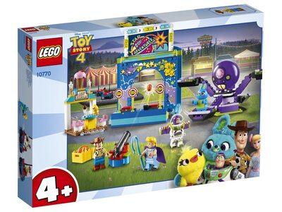 Купить Лего 10770 Парк аттракционов Базза и Вуди серии Джуниорс, Той Стори 4.