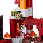 Купить Лего 21122 Подземная крепость LEGO Minecraft.