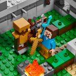 Купить Лего 21127 Крепость Майнкрафт LEGO Minecraft.
