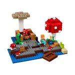 Купить Лего Майнкрафт 21129 Грибной остров, LEGO Minecraft.