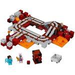 Купить Лего Майнкрафт 21130 Подземная железная дорога, LEGO Minecraft.