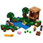 Купить Лего Майнкрафт 21133 Хижина Ведьмы, LEGO Minecraft.