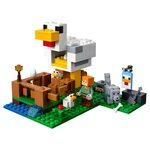 Купить Лего 21140 Курятник, LEGO Minecraft.