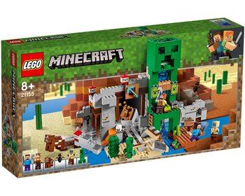 Лего minecraft шахта крипера