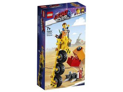 Купить Лего 70823 Трехколёсный велосипед Эммета серии Муви 2.