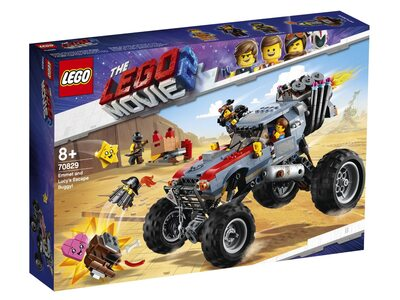 Купить Лего 70829 Побег Эммета и Дикарки на багги серии Муви 2.