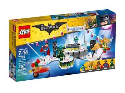 Купить Лего 70919 Вечеринка Лиги Справедливости, LEGO Movie Batman.