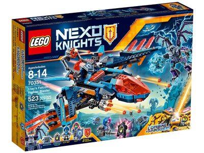 """Купить Лего 70351 Самолет-истребитель """"Сокол"""" Клэя, Нексо Найтс."""