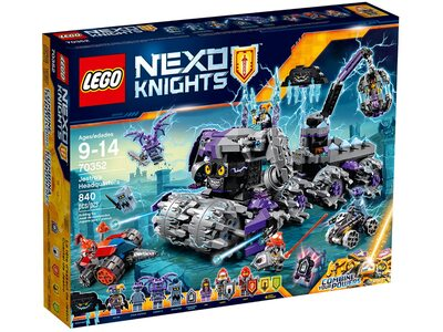 Купить Лего 70352 Штаб Джастро Нексо Найтс.