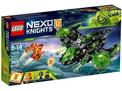 Купить Лего 72003 Бомбардировщик Берсеркер, Нексо Найтс.