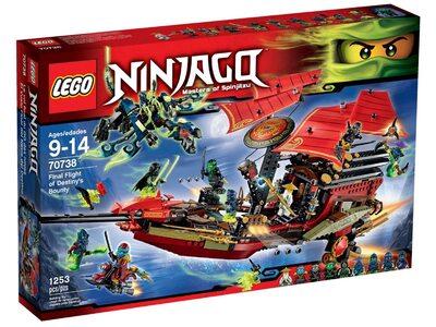 Купить Лего 70738 Корабль Дар Судьбы, Решающая битва серии Ниндзяго.
