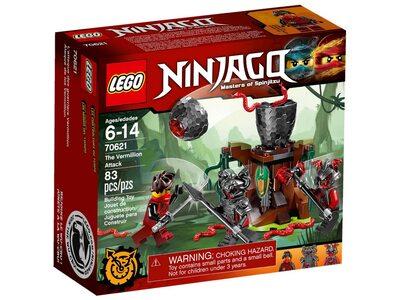 Купить Лего Ниндзяго 70621 Атака Алой армии.