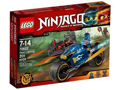 Купить Лего 70622 Пустынная молния серии Ниндзяго.