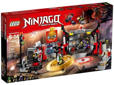 Купить Лего 70640 Штаб-квартира сыновей Гармадона, Ниндзяго.