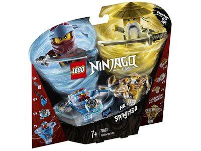 Купить Лего 70663 Спин-джитсу Ния и Ву серии Ниндзяго.
