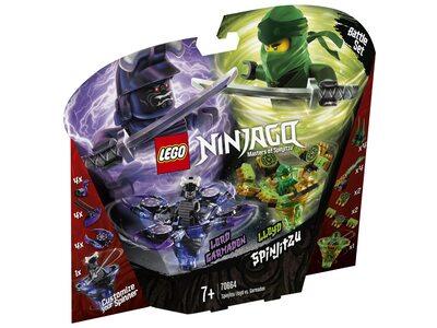 Купить Лего 70664 Спин-джитсу Ллойд против Гармадона серии Ниндзяго.