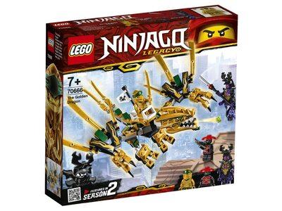 Купить Лего 70666 Золотой Дракон серии Ниндзяго.