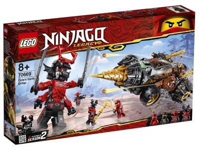 Купить Лего 70669 Земляной бур Коула серии Ниндзяго.