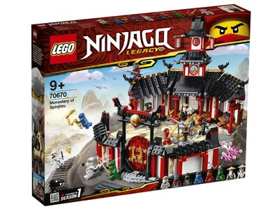 Купить Лего 70670 Спин-джитсу серии Ниндзяго.