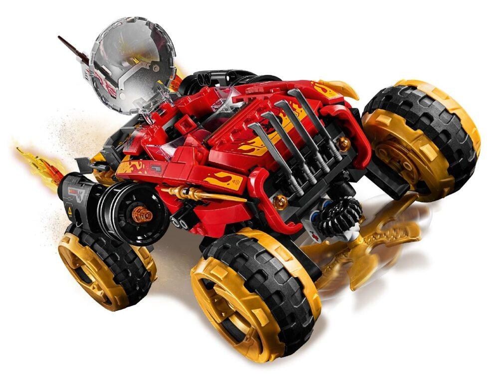 LEGO Ninjago 70675 Внедорожник Катана 4x4 | playzone.com.ua
