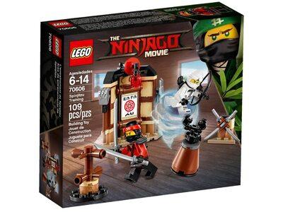 Купить Лего 70606 Школа спин-джитсу, Ниндзяго Муви.