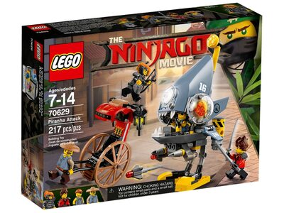 Купить Лего 70629 Атака Пираньи, Ninjago Movie.