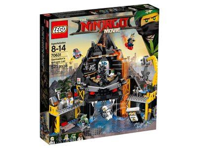 Купить Лего 70631 Вулканическое логово Гармадона, Ninjago Movie.
