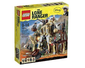 LEGO Перестрелка возле серебряного рудника