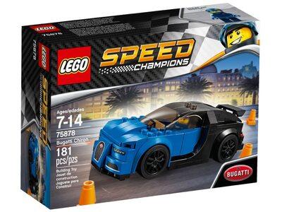 Купить Лего 75878 Бугатти Чирон серии Спид Чемпионс.