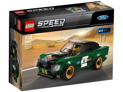 Купить Лего 75884 Форд Мустанг Фастбэк, Speed Champions.