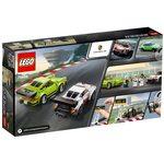 Купить Лего 75888 Porsche 911 RSR и 911 Turbo 3.0, Speed Champions.