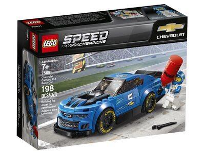 Купить Лего 75891 Гоночный автомобиль Chevrolet Camaro ZL1 серии Спид Чемпионс.