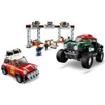 Купить Лего 75894 Автомобили 1967 Mini Cooper S Rally и 2018 MINI John Cooper Works Buggy серии Спид Чемпионс.