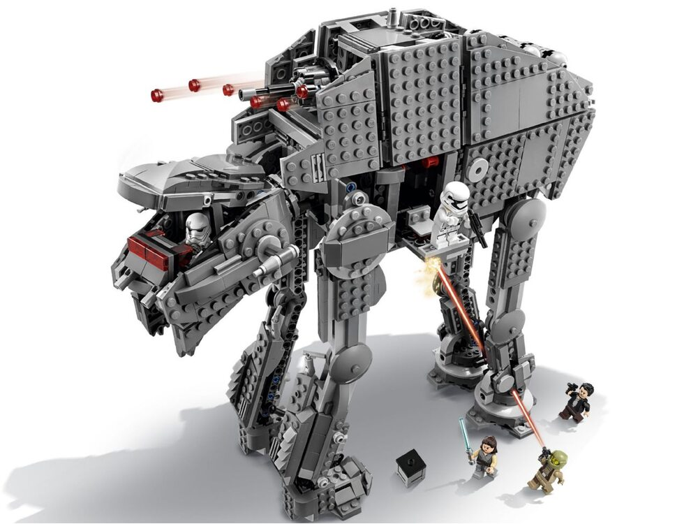 LEGO Star Wars 75189 Важкий крокохід Першого ордена | playzone.com ...
