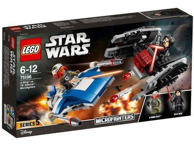 Купить Лего 75196 A-Винг против тихоход TиАйИ, Стар Варс.