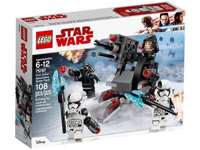 Купить Лего 75197 Боевой комплект специалиста Первого Ордена, Стар Варс.