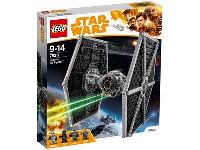 Купить Лего 75211 Имперский истребитель TIE Fighter, Star Wars.