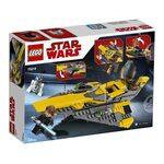 Купить Лего 75214 Звёздный истребитель Энакина, Star Wars.