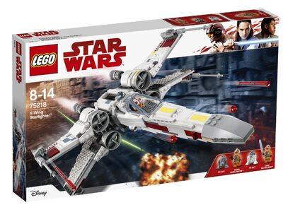 Купить Лего 75218 Звёздный истребитель типа Х, Star Wars.