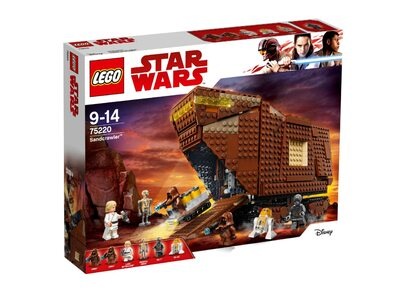 Купить Лего 75220 Песчаный краулер, Star Wars.
