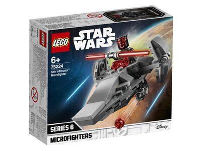 Купить Лего 75224 Корабль-лазутчик ситхов серии Стар Варс.