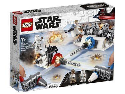 Купить Лего 75239 Разрушение генераторов на Хоте серии Стар Варс.