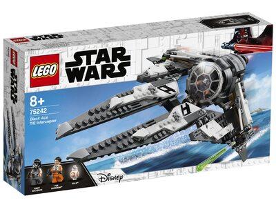 Купить Лего 75242 Перехватчик СИД Чёрного аса серии Стар Варс.
