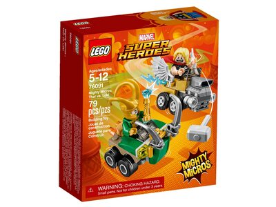 Купить Лего 76091 Тор против Локи, LEGO Super Heroes.