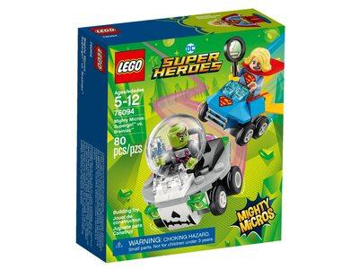 Купить Лего 76094 Супердевушка против Брейниака, LEGO Super Heroes.