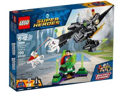 Купить Лего 76096 Команда Супермена и Крипты, LEGO Super Heroes.