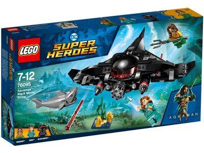 купить Лего 76095 Аквамен: удар Чорной Манты, Super Heroes.