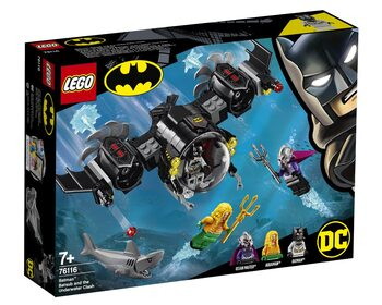 Подводный бой Бэтмена