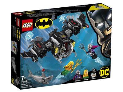 Купить Лего 76116 Подводный бой Бэтмена серии Супер Герои.