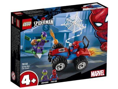Купить Лего 76133 Погоня Человека-Паука серии Супер Герои Спайдермен.